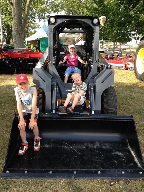 Crawford County Fair - John Deere Exhibit
