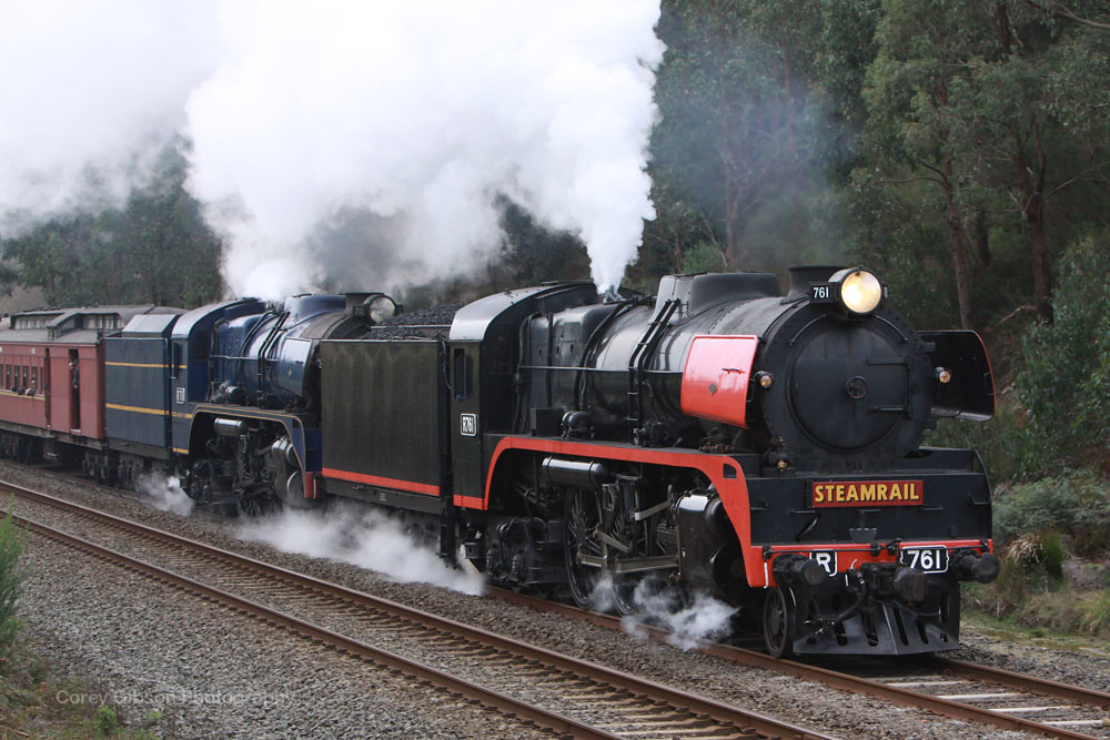 Steamrail R761 & R711 by Corey Gibson
