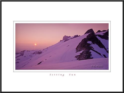 sunset snow mountains jim glacier hut neve squamish dione tantalus haberl keithgrajala