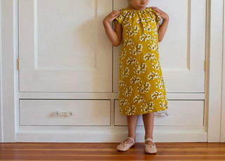 honey mustard dress | by skirt_as_top