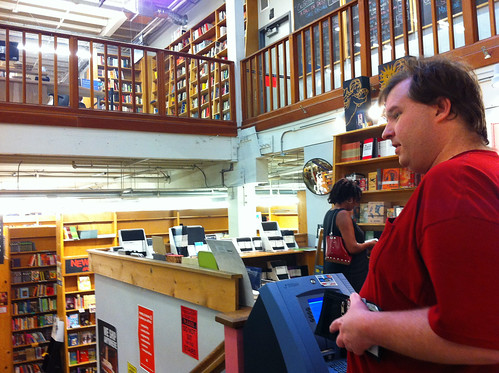 Powell's City of Books - Mike at the ATM | by Miss Shari