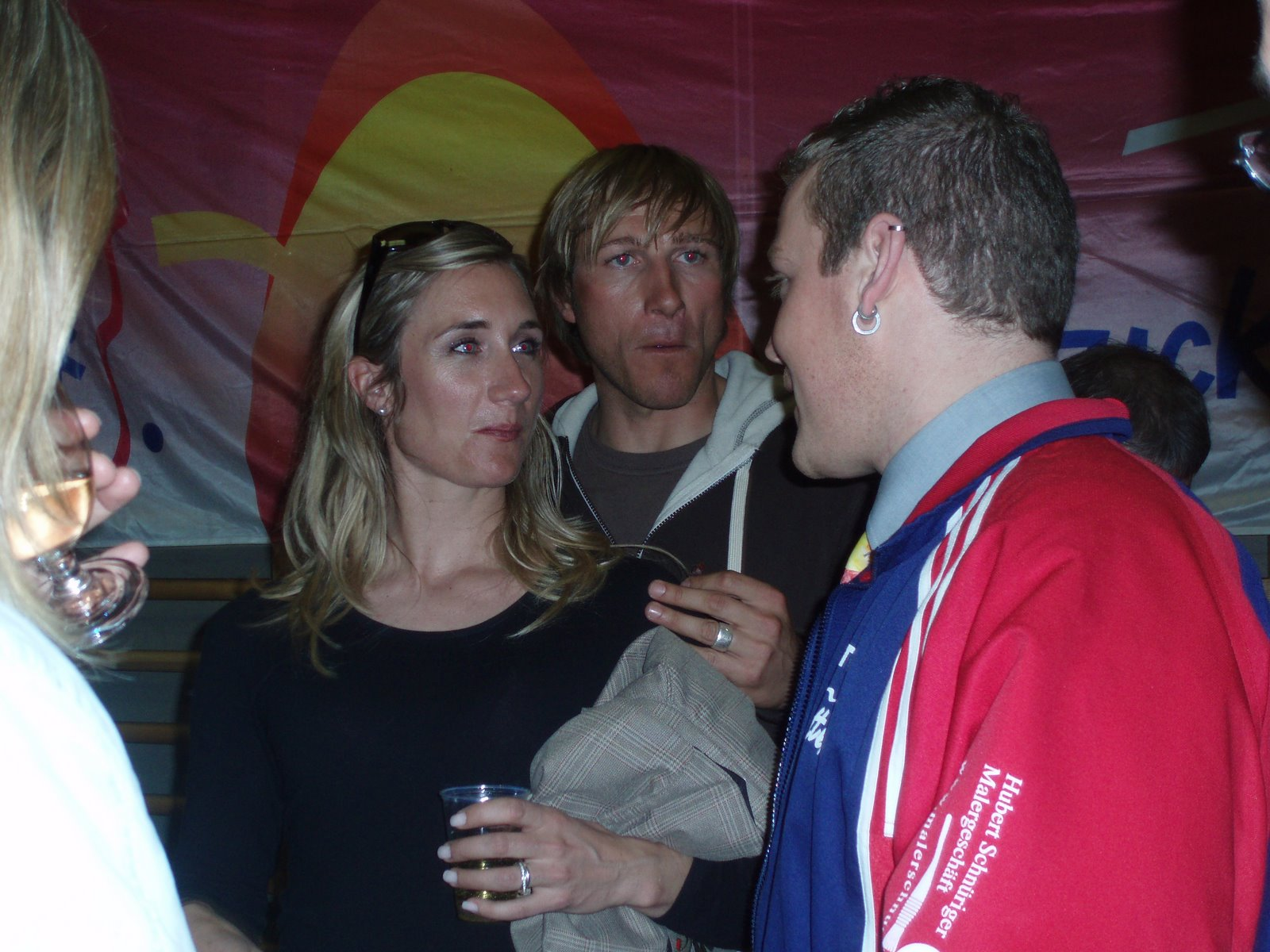 2008 Empfang Nadia und Fabienne