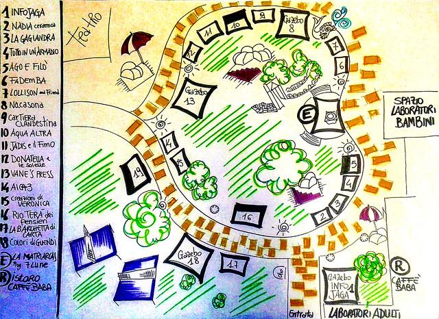 FIERA di BABA JAGA - Mappa del Tesoro