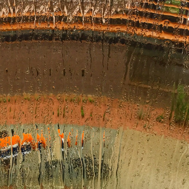 Section of PANO in the Rain
