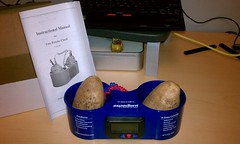 Thu, 04/26/2012 - 11:49pm - Expedient sent me a potato clock today.
