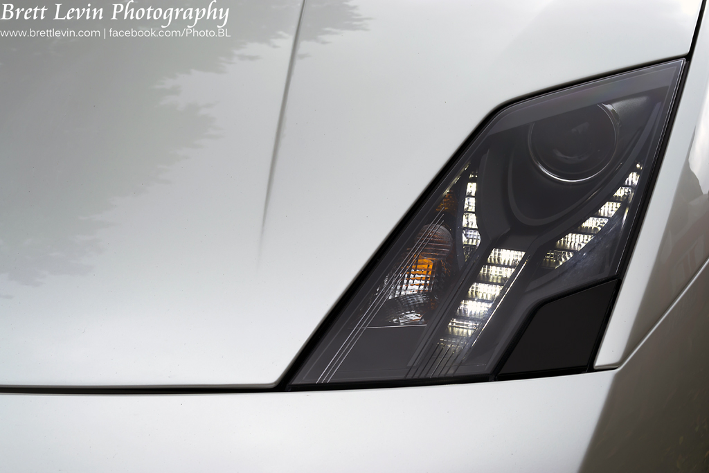 Lamborghini Gallardo Headlight Brett Levin Flickr