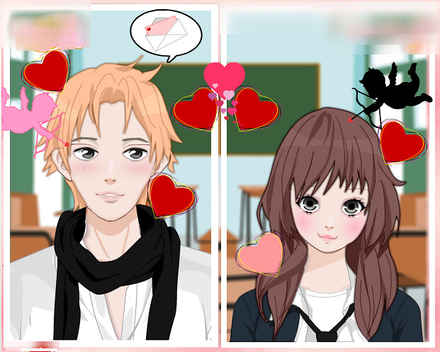 Rinmaru Games Anime Valentine Couple Creator Blythe Naess Flickr