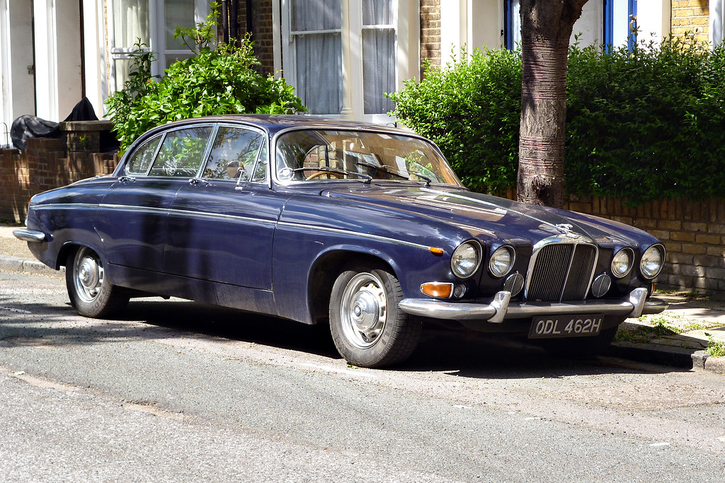 1969 Jaguar 420G Saloon | I love these types of Jaguars. Suc… | Flickr