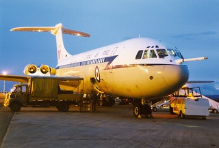 XR808 VC-10. Exeter.