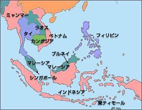 東南アジア 地図