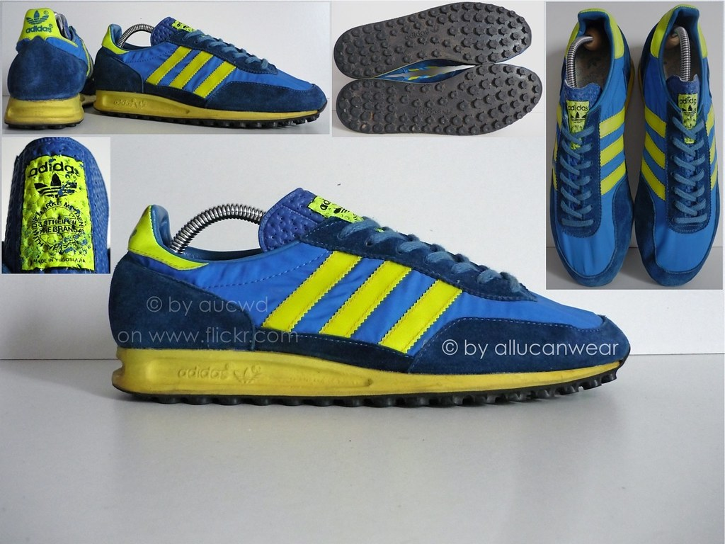 70`S 80`S VINTAGE ADIDAS TRX SHOES TRAINERS | made in
