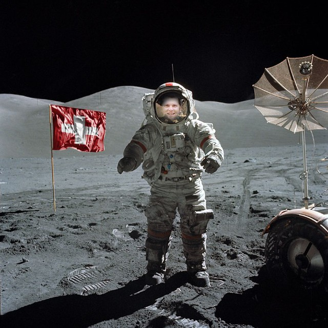 First Day living on the Moon..