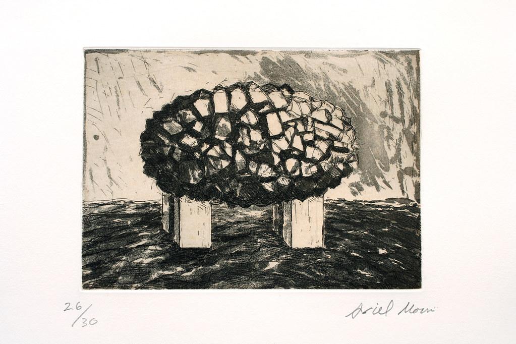 15 In head,(10-30),複合媒材,38×48cm   Ariel Moscovici   小 畫廊 ...