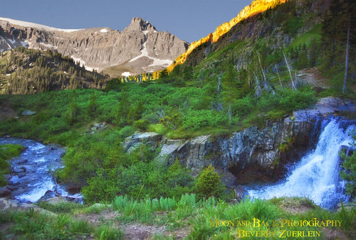 morning mountains sunrise waterfall am colorado stream peaks wildnerness yankeeboybasin yankeeboymine aspenbree