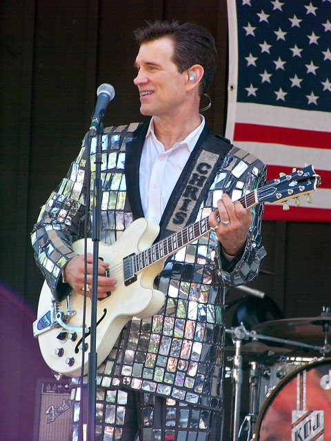 Sat, 06/30/2012 - 4:44pm - Chris Isaak at the Indian Ranch in Webster, MA. 6-30-2012