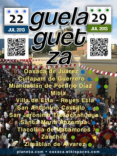 Guelaguetza! Mark your calendars - July 22 and 29, 2013 #oaxacatoday #rtyear2013 @TurismoEconOax @Territorioscore @GobMunOax | by planeta