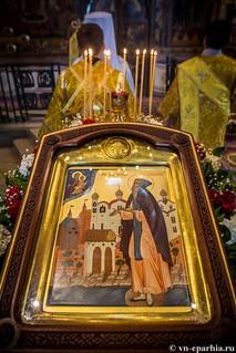 Литургия в Софийском соборе 70