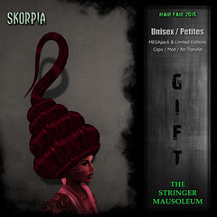 Hair Fair 2016 - The Stringer Mausoleum - Skorpia - Booth Gift