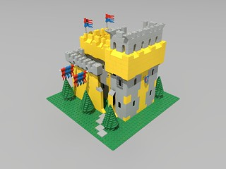 ldv_nice_yellow_castle_old_10 | by mikh2161