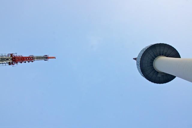 Seoul Tower on Mount Namsan, South Korea