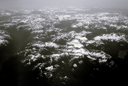 Flying above mountains | by moonstream