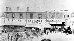 Murray Street 155 - Rear of Exchange Hotel in 1902