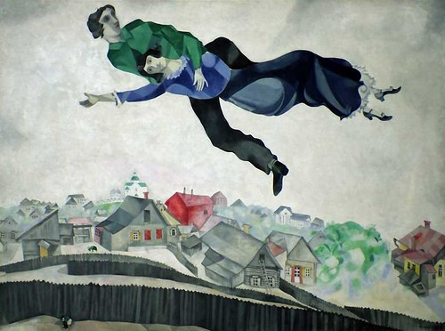 [ C ] Marc Chagall - Over the Town (1918) | by Cea.