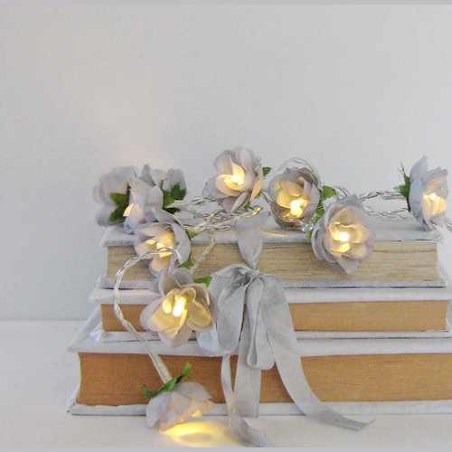 French Roses Fairy Lights - Chateau Grey | by pamela.angus