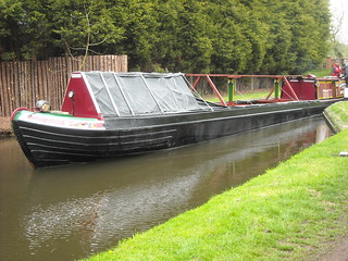 Swift leaving lock | by Heritage Working Boats Group