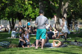 Sunday in the Park: Storyteller