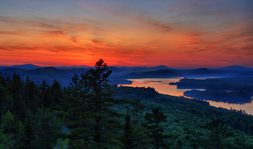 new york old mountain tower sunrise canon landscape fire dawn bald upstate adirondacks forge adks rondaxe waterfallguy