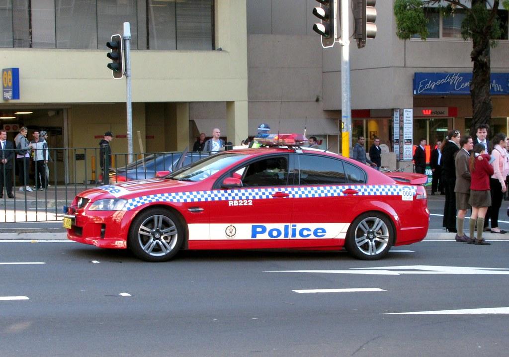 Police Car, Edgecliff, Sydney, NSW