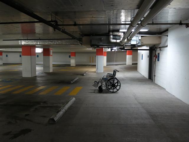 Parking Garage, Capitol Hill, Seattle