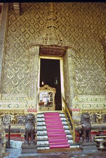 Doorway to the Emerald Buddah