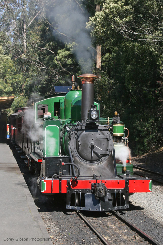 Puffing Billy Railway 6A by Corey Gibson