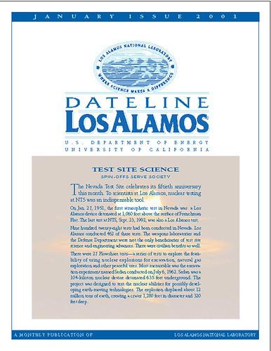 Dateline Los Alamos January 2001