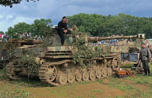 PzKpfw IV at the War and Peace Show 2012