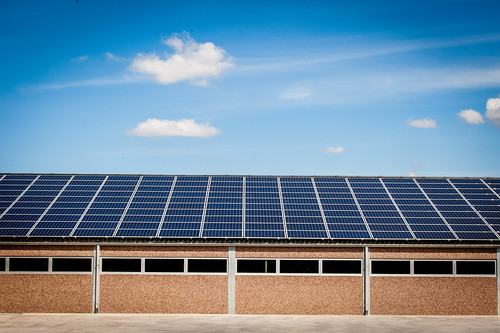 Solar panels on stable / shed   by pieter.morlion
