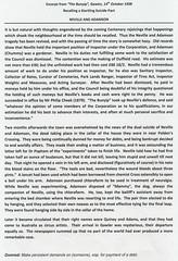Neville & Adamson .Suicide Pact. Bunyip 14/10/1938