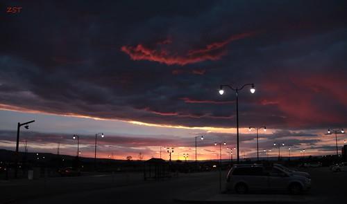 sunset clouds airport greeting redskyatnight grandjunctioncolorado canon7d canonefs18135mmf3556is zeesstof houstontograndjunction