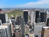 New York – pohled z Top of The Rock v Rockefellerově centru na sever a Central Park, foto: Luděk Wellner