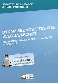 "Couverture avant du livre ""Dynamisez vos sites web avec JavaScript"" 
