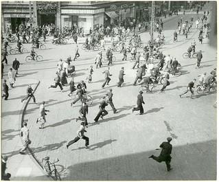 Uroligheder på Banegårdspladsen i Århus den 26. august 1943