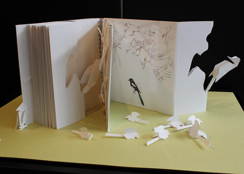 "Shin Jidai: Marija Prelog, ""Birds Hidden in Paper"" 