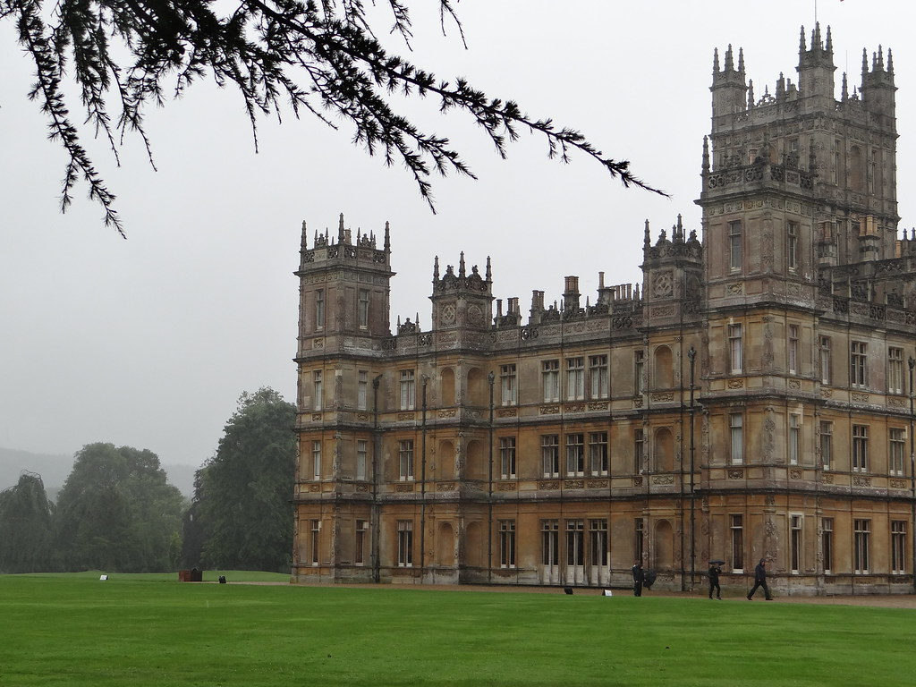 Image result for downton abbey castle