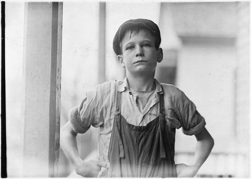 "Furman Owens, 12 years old. Can't read. Don't know A, B, C's. ""Yes I want to learn but can't when I work all the time,"" January 1909"