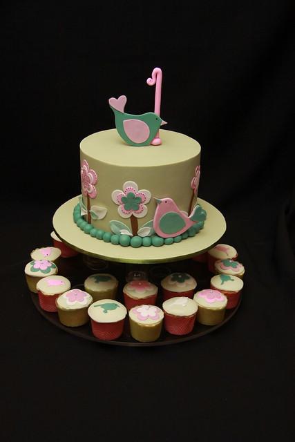 Keisha Christening Cake