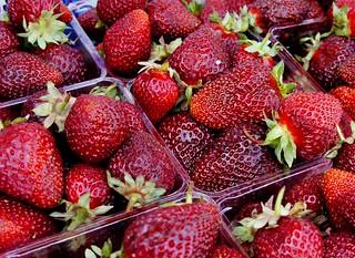 Strawberries   by sea turtle
