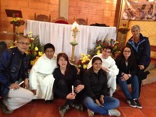 Equipo misión Semana Santa