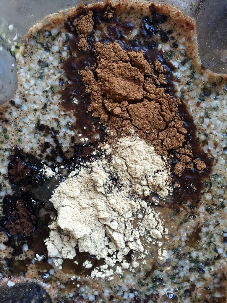 Reishi Cordyceps Chaga powders + Cat's Claw Tea + Hemp See